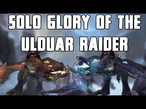 ... the Casual: Soloing Ulduar for Glory to Ulduar Raider Achieves
