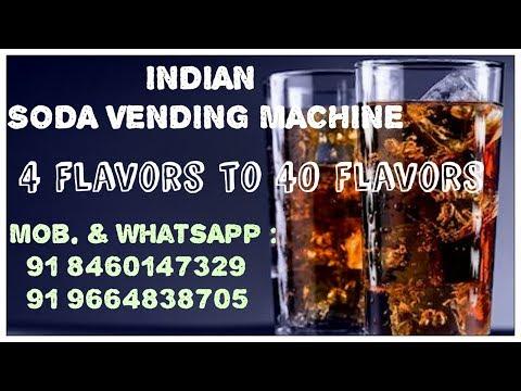 Van Soda Fountain Machine