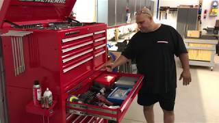 US General Tool Box and Pliers Organization