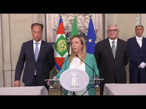 CONSULTAZIONI GRUPPO PARLAMENTARE FRATELLI D'ITALIA