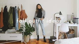CASUAL FALL OUTFIT IDEAS | Summer To Fall Transitional Outfits
