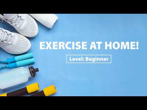 ​Let's Exercise at Home! (Beginner)