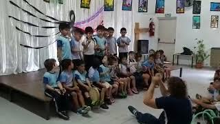 Interpretación de los alumnos de Sala de 5 y 1°