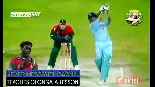 Sachin Tendulkar vs Henry Olonga The revenge - full innings Sharjah 1998. FIRST ON YOUTUBE