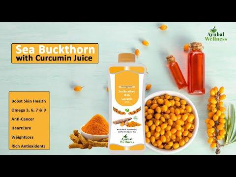 Sea Buckthorn Juice (Promotes Heart Health)