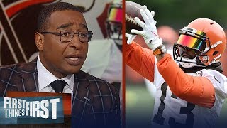 Cris Carter has high expectations for OBJ and Baker in Cleveland | NFL | FIRST THINGS FIRST