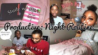 PRODUCTIVE: SCHOOL NIGHT ROUTINE (fall) | nyanicholee |