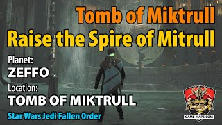 Video Zeffo Tomb of Miktrull - Raise the Spire of Mitrull