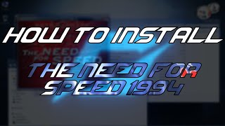 How to install The Need For Speed 1994 [First nfs game!]