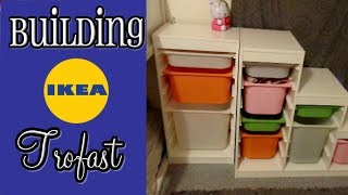 Speed Building IKEA Furniture | Kids Room Tour