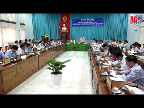 UBND tỉnh hội nghị thường kỳ về kinh tế- xã hội 9 tháng của năm 2018