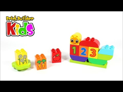 Vidéo LEGO Duplo 10831 : Ma première chenille