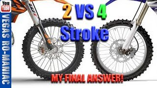 👍🍺 Did I BUY a 2 Stroke or a 4 Stroke Motorcycle - QUESTION FINALLY Answered!