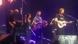 Ed Sheeran Nancy Mulligan Live in Ireland ft beoga (Dublin night 1)
