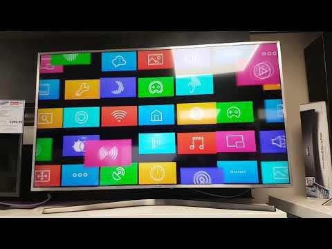 Samsung UE49MU6400 Quick Unboxing and Setup + UHD 4K Demo