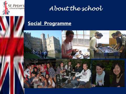 St Peter's School of English-Language School in Canterbury www.stpeters.co.uk
