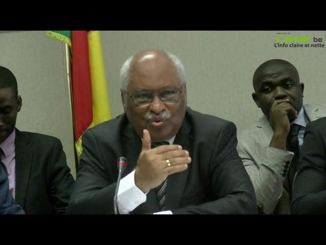 """Laurent Esso : """"Le Cameroun est le seul pays au monde à rallier le droit romano-germanique"""""""