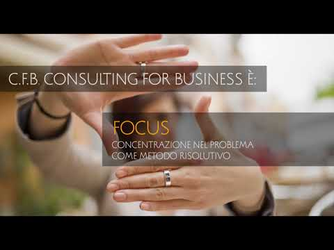 CFB CONSULTING FOR BUSINESS SRLS