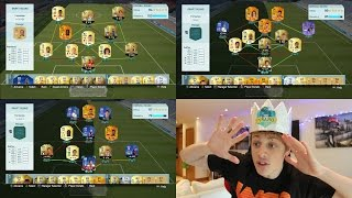 THE BEST NON BBVA FUT DRAFTS!! - FIFA 16