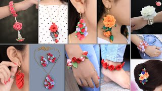 10 Stylish Girls Fashion Paper Jewelry Making 💖 ! You Should Try