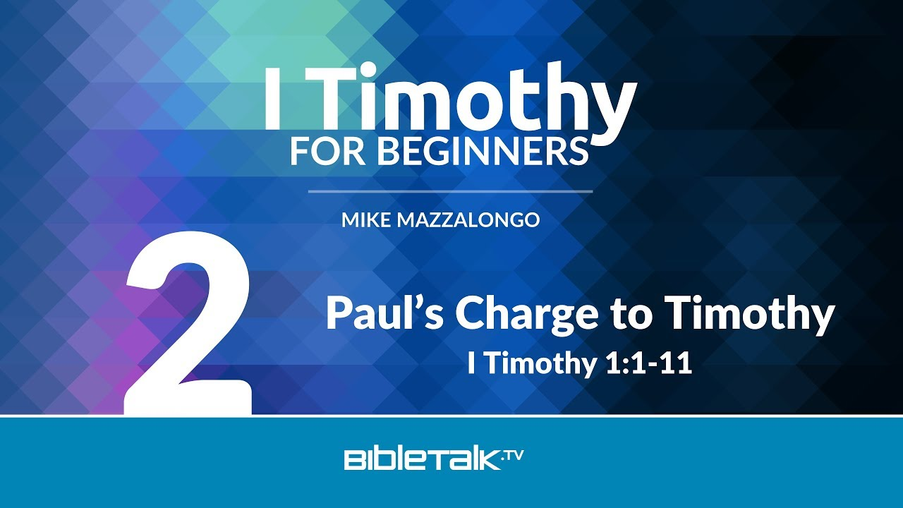 2. Paul's Charge to Timothy