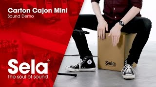 Carton Cajon Mini - Sound Demo 4