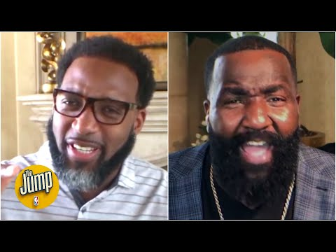 Tracy McGrady and Kendrick Perkins get heated over their NBA bubble predictions | The Jump