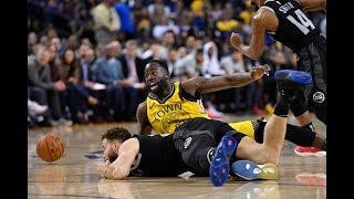 Golden State Warriors' Draymond Green on his defense of Detroit Pistons' Blake Griffin