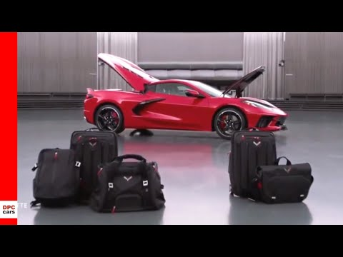 2020 Chevrolet Corvette C8 Storage Space and Trunk