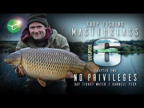Korda Carp Fishing Masterclass Vol 6: No Privileges | Darrell Peck 2019