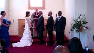 Elegant Wedding of Visually Impaired Couple