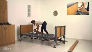 Polohovací postel MEYRA Ecofit S - Video Ecofit S