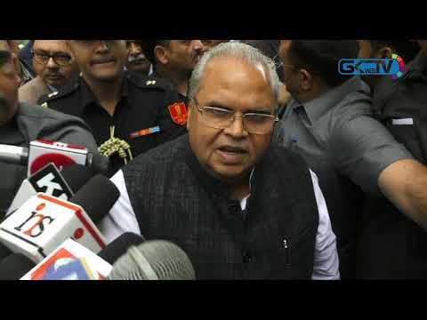 Governor Satya Pal Malik inaugurates TRC grade separator
