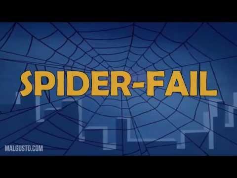 hqdefault - Spider-Fail! Spider-Fail! El nuevo heroe sin dientes!
