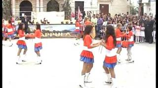 preview picture of video 'Le majorettes di Grumo Appula'