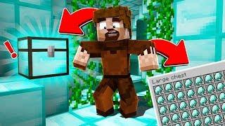 FAKİR ELMAS ODASINDA GİZLİ SANDIK BULDU! 😱 - Minecraft