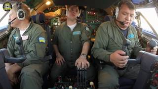 MEGA An-22 ULTIMATE COCKPIT MOVIE, TWO FLIGHTS! HUGE Outsized Cargo, mega outsized plane! [AirClips]