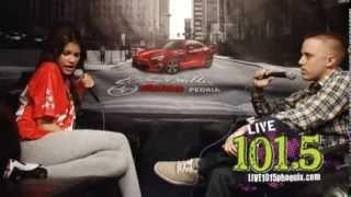 Zendaya Coleman, Интервью на радио LIVE 101.5