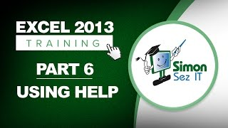 Excel 2013 for Beginners Part 6: How to Use Excel Help