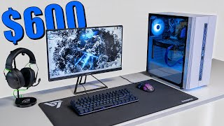 $600 FULL PC Gaming Setup Guide (With Upgrade Options)