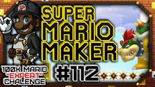 "Super Mario Maker w/ PKSparkxx #112 - 100 Mario Expert Courses | ""Glitching With No Glitches!?"""