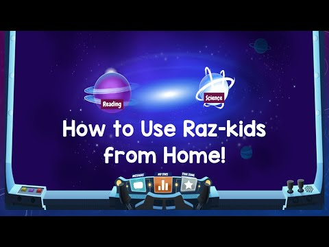 How to Use Raz-Kids from Home!