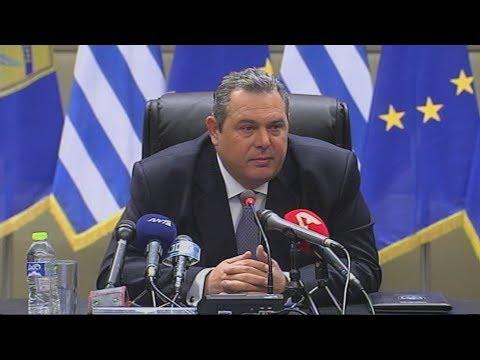 Π. Καμμένος: Αισιοδοξία για μια αξιοπρεπή λύση στο θέμα της ονομασίας της ΠΓΔΜ