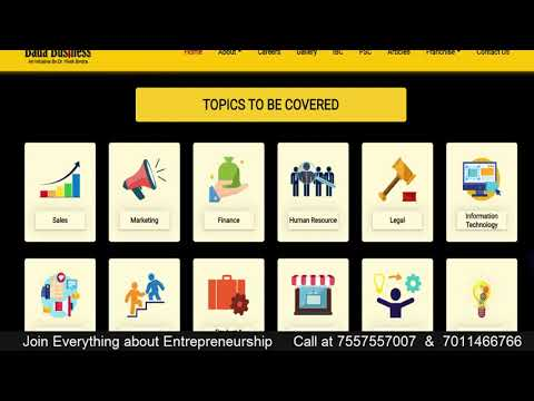 Everything About Entrepreneurship Course by Vivek Bindra | what is ...