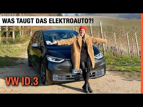 VW ID.3 im Test 🔋🔌 Was taugt das beliebteste Elektroauto?🤔 Fahrbericht | Review | Reichweite