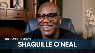 Shaquille O'Neal Impersonates Cardi B, Kevin Hart and Bill Clinton