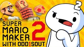 Wait...you can SKIP LEVELS?!?!? - Mario Maker (w odd1sout)