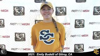 2021 Emily Budelli Speedy 2.8 Slapper, Outfield & Middle Infield Softball Skills Video - Ca Suncats