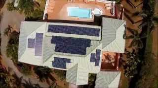 preview picture of video 'Recently installed solar system by VI Solar Depot - St. Croix USVI'