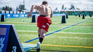 Event 11 - Sprint Sled Sprint - 2020 CrossFit Games